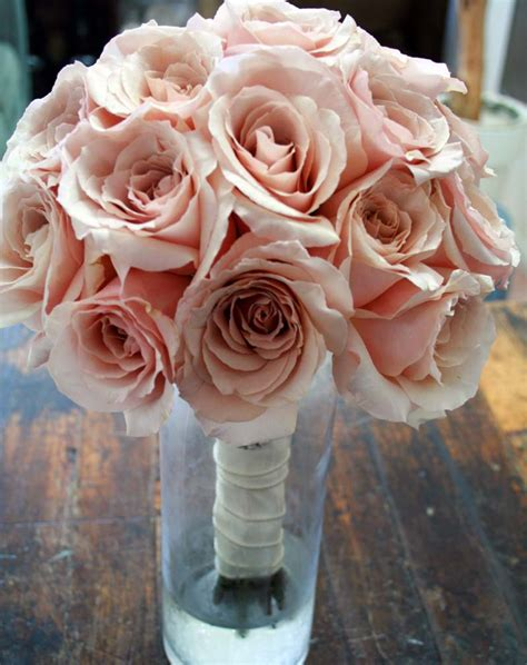 blush colored flowers a blushing wedding rooted in