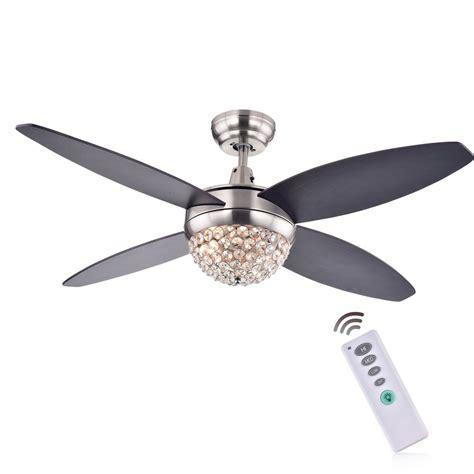 nickel ceiling fan with light balavis 47 in indoor nickel ceiling fan with light kit