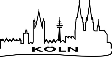 1 Fc Köln Aufkleber Auto by Autoaufkleber Skyline Quot K 246 Ln Quot Geschenkartikel