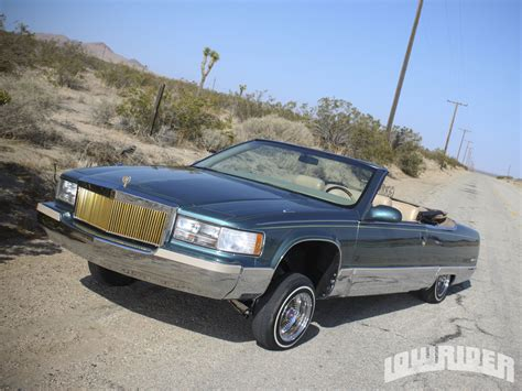 94 cadillac fleetwood for sale 1994 cadillac fleetwood convertible lowrider magazine