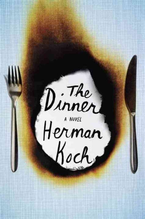 dinner book book review the dinner by herman koch offers food