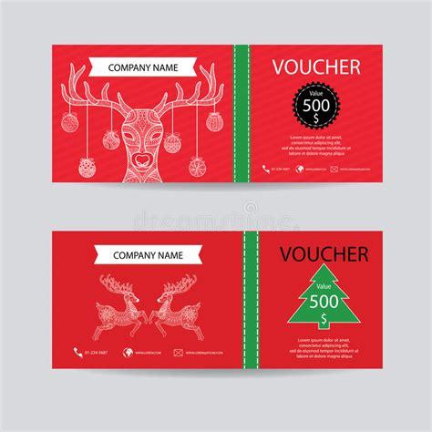 new year gift voucher and new year gift voucher certificate coupon