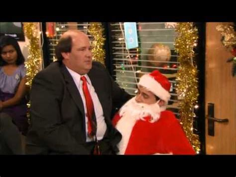 the office christmas episode bloopers funny steve