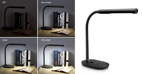 table l with usb charging port amazon desk l dimmable reading light with usb charging
