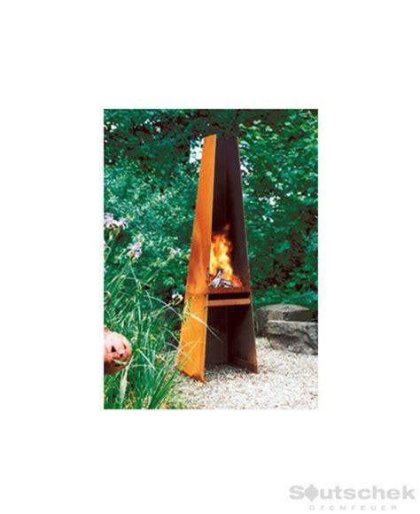 feuerstelle aussenbereich holz feuerstellen f 252 r den au 223 enbereich