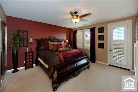 red accent wall in bedroom black and red bedroom interior design home pleasant