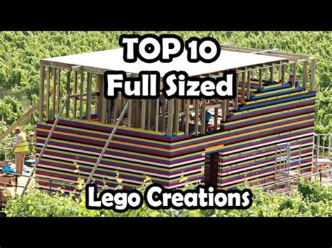life size lego house top 10 amazing life size lego creations life size lego house and working lego car
