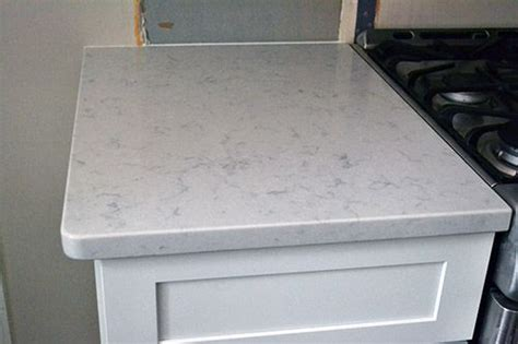 Helix Quartz Countertops by White Kitchen With Silestone In The Color Helix But As