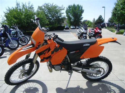 Ktm 250 Exc For Sale 2004 Ktm 250 Exc Dirt Bike For Sale On 2040motos