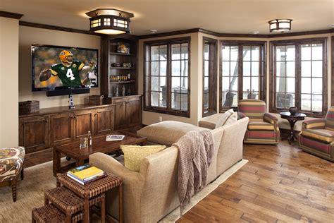 Wood Floor In Powder Room - elegant rustic entertainment center look minneapolis traditional living room innovative designs