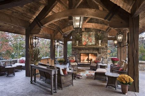 covered patio with fireplace 62 beautiful backyard patio ideas designs
