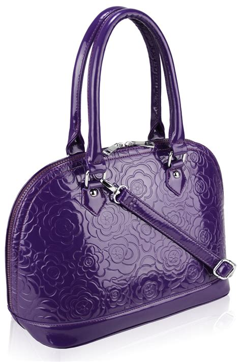 Style Violet Charmed Zipper Tote by Wholesale Purple Tote Fashion Grab Handbag
