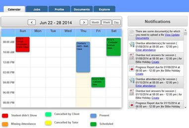 tutor scheduling business software tutorpanel tutorware tutoring business management software