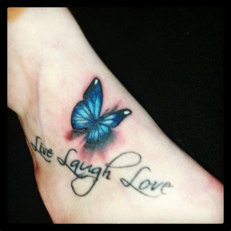 tattoo 3d vlinder added a 3d butterfly to this one my tattoos pinterest