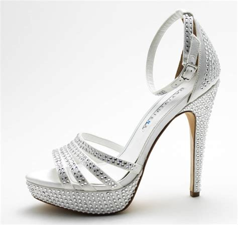 Silver Wedding Shoes For Bridesmaids by High Heel Wedding Shoes For Bridesmaids Wardrobelooks