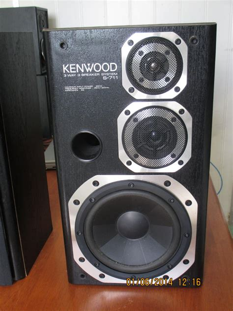 kenwood s 711 bookshelf speakers any info speakers
