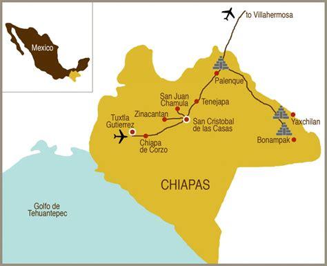 map of mexico chiapas culturexplorers map chiapas small culture xplorers