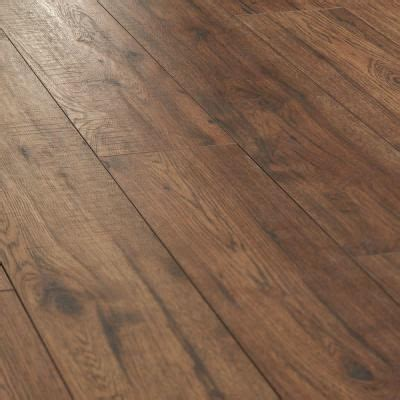 home decorators collection distressed brown hickory  mm thick     wide