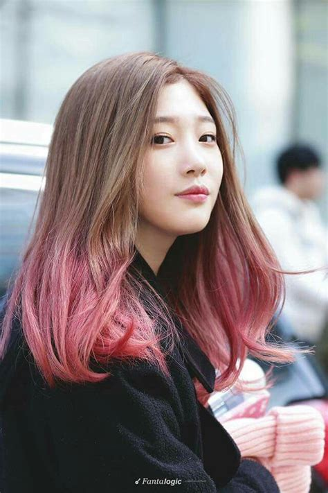 korean hairstyles color 91 best jung chaeyeon images on pinterest jung chaeyeon