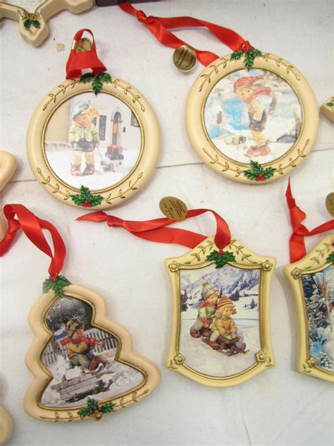 lot 21 danbury mint m i hummel christmas tree ornaments w