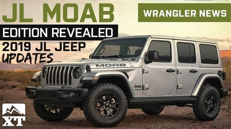 2019 Jeep Jl by 2019 Jl Wrangler Updates And Colors Jeep Jl Moab Edition