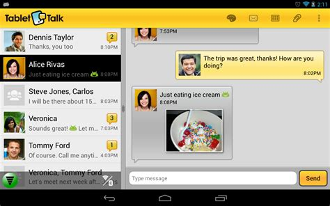 best texting app for android tablet tablet talk sms texting app android apps on play