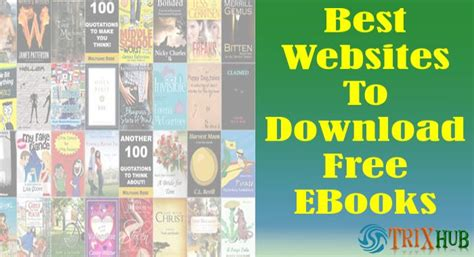 sites for download free books