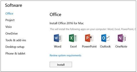 Portal Office 365 Business Trial And Install Office 2016 For Mac Right Networks