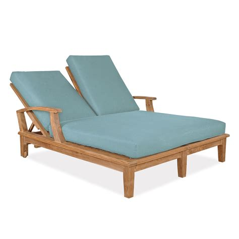 Sunbrella Double Chaise Cushion Set Replacement   50
