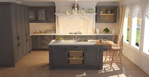 wren kitchen design shaker graphite timber traditional kitchens kitchens