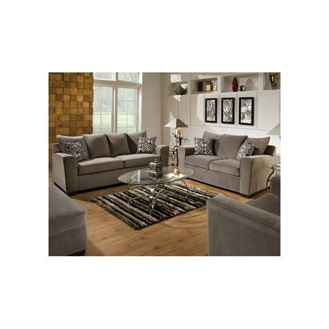 simmons sofa and loveseat simmons upholstery ventura smoke sofa loveseat