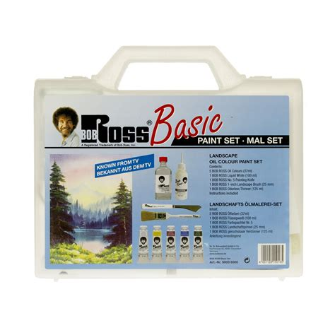 bob ross painting products basic landscape paint set craftyarts co uk