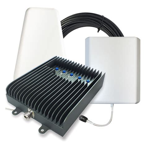 surecall fusion5s home cell phone signal booster w yagi and panel antennas ebay