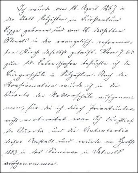 Lebenslauf Bewerbung Handschriftlich W 252 Sten Menschen Und Geschichte