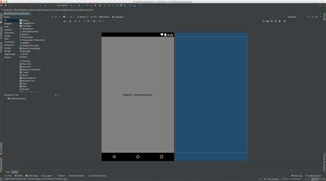 android layout editor xml android constraint layout render problems layout