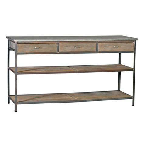 kitchen table with drawers nicholas industrial loft kitchen island console table with drawers kathy kuo home