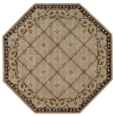 6 x6 rug transitional versailles palace octagon 6 0 quot x6 octagon beige area rug transitional area rugs