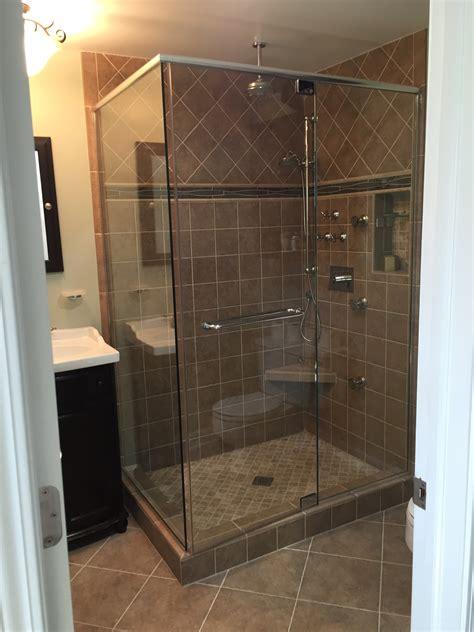 Shower Door Header Storefronts Glass Shower Doors 60044 60045 60035 60022 60048 60060 60015 Frank S Glass