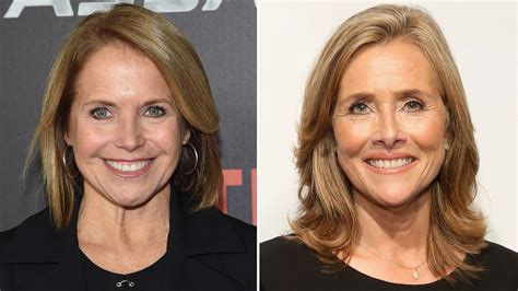 hair color techniques used on merideth vieira s hair katie couric and meredith vieira to guest host today show
