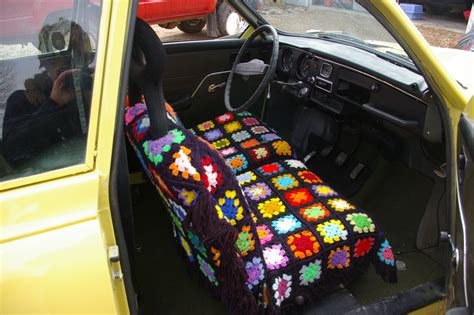 Funky Covers by Repurpose S Afghan For Funky Seat Covers Magpie Wire