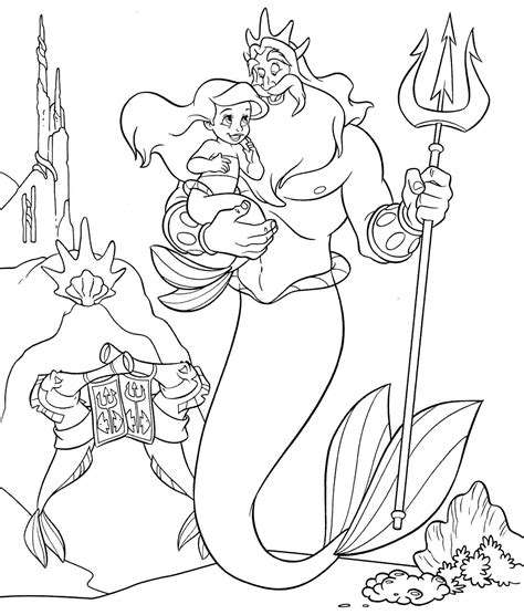 Printable Little Mermaid Coloring Pages Coloring Me Mermaid Coloring Pages Disney