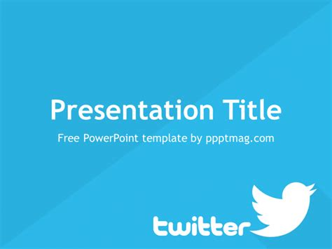 twitter layout for powerpoint twitter powerpoint template prezentr