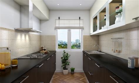 parallel kitchen ideas perfect modern parallel style kitchen design ideas