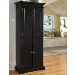 Black Kitchen Pantry Cabinet by Black Kitchen Pantry Cabinet On Kitchen Storage