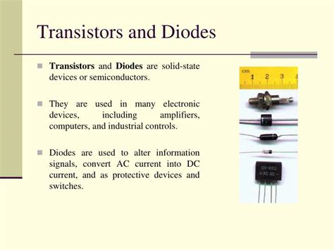 semiconductor diodes and transistors ppt modern trends in electronic system design introduction powerpoint presentation id 5626360