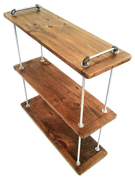 3 tier adjustable threaded rod shelf industrial