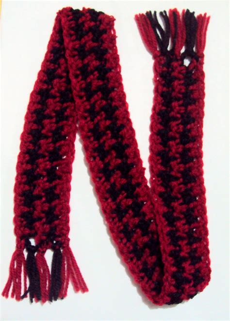 crochet spot 187 archive 187 crochet pattern houndstooth