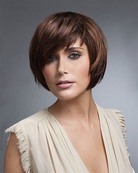haircuts for round face shape how to choose short haircuts for round faces in different