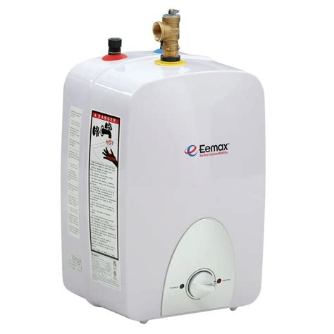 eemax 2 5 gal electric mini tank water heater emt2 5