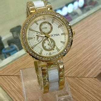 Bonia Square Rantai jj clothbeauty bonia watches for